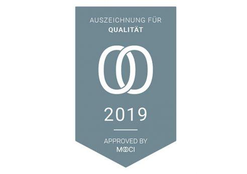 Auszeichnung für Qualität von MOOCI ausgezeichnet